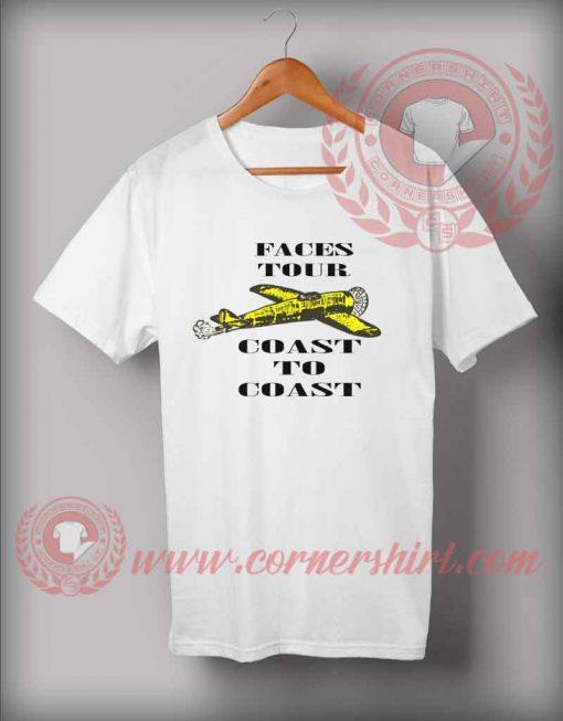Custom Shirt Design Faces Tour Coast To Coast