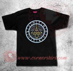 Gravity Falls Wheels Custom Design T shirts