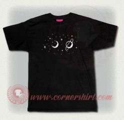 Custom Shirt Design Moon And Planets