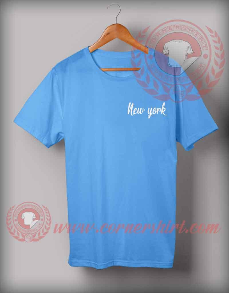 New York Custom Design T Shirts Custom T Shirt