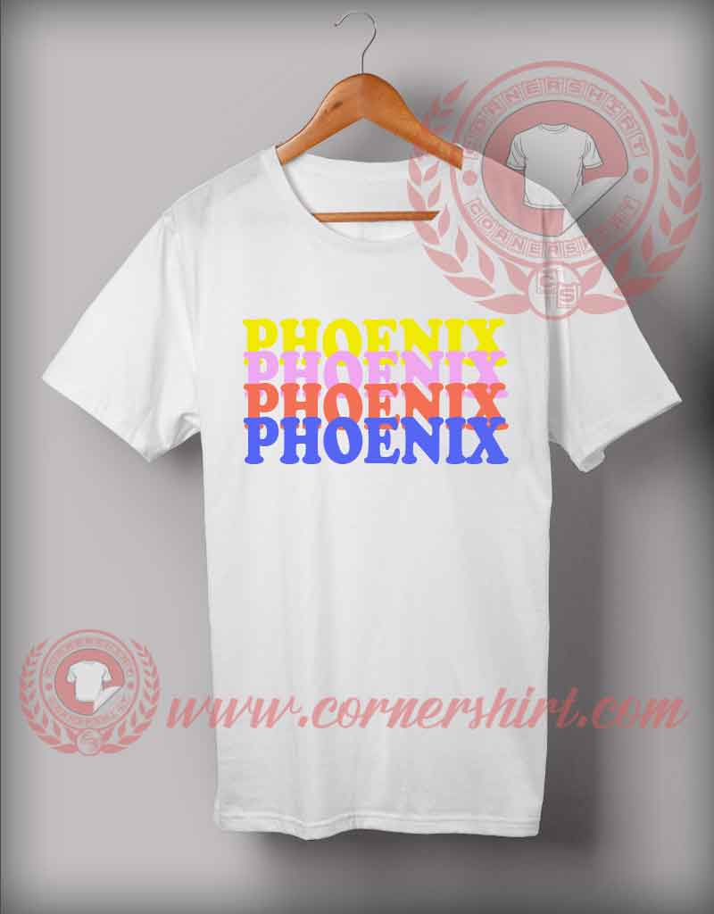 phoenix custom design t shirts custom shirt design