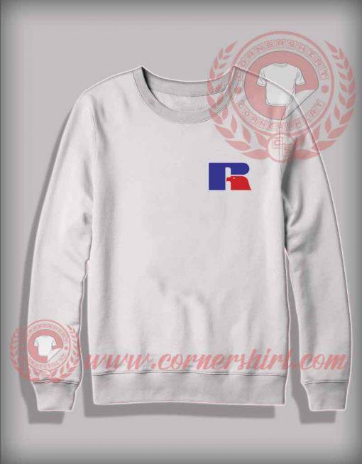 R Logo Custom Shirt Design Sweater