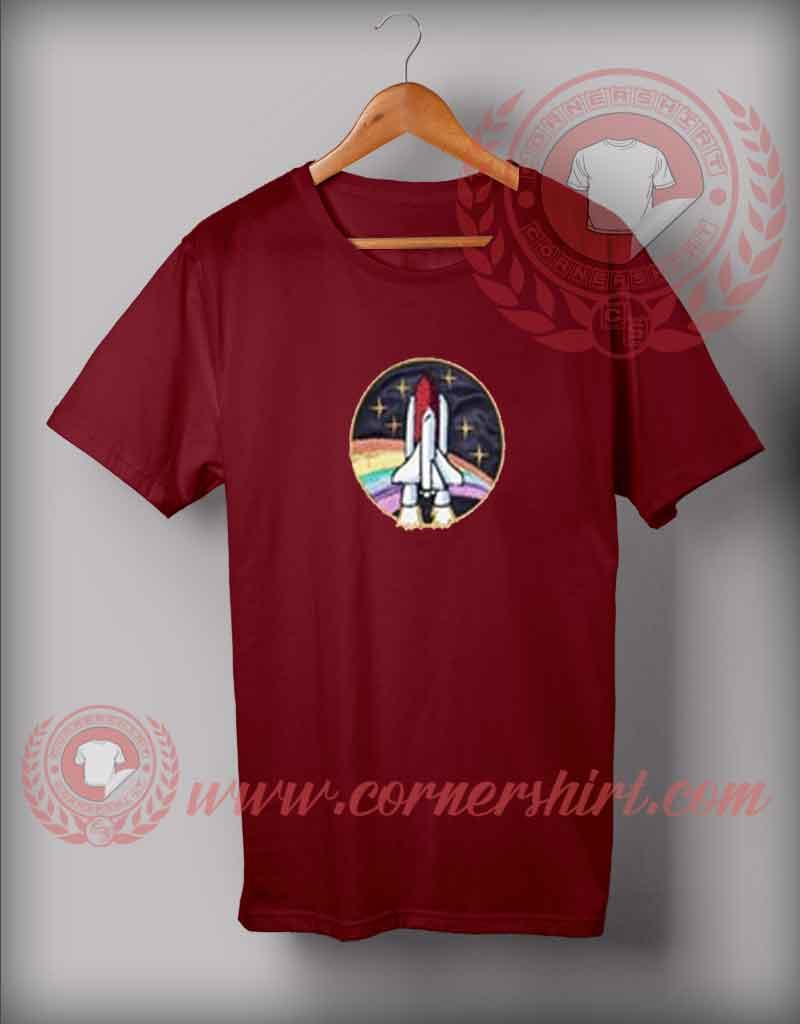Custom Shirt Design Rocket Shuttle