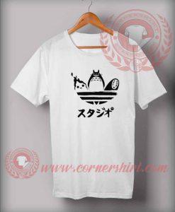 Totoro And Friends Custom Design T shirts