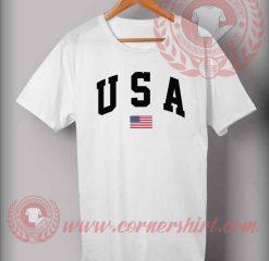 Custom Shirt Design USA Flag
