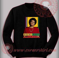 Bruno Mars 24k Album World Tour Custom Design Sweatshirt