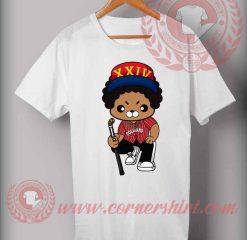 Bruno Mars Cartoon Illustrated Custom Design T shirts