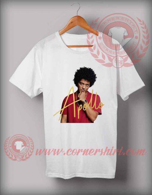 Bruno Mars Live in Apollo Custom Design T shirts
