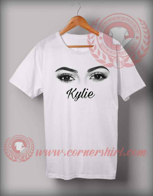 Kylie Jenner Eyes Custom Design T shirts