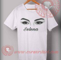 Selena Gomes Eyes Custom Design T shirts