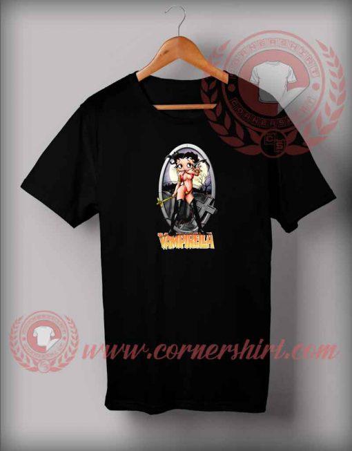 Betty Boop Vampire Custom Design T shirts