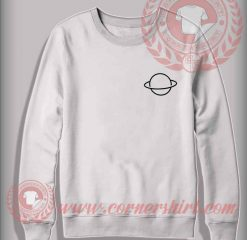 Saturn Planet Custom Design Sweatshirt