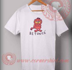 Beyonce Garfield Custom Design T shirts
