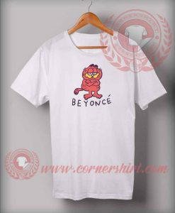 Beyonce Garfield Custom Design T shirts