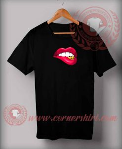 Fake Lips Custom Design T shirts