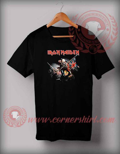 Iron Maiden Trooper Custom Design T shirts