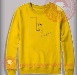 Smoking Girl Custom Design Sweatshirt