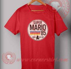 Super Mario 85 Custom Design T shirts