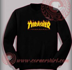 Thrasher Magazine Custom Design Sweatshirt