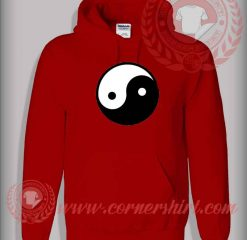 Ying Yang Logo Custom Design Hoodie