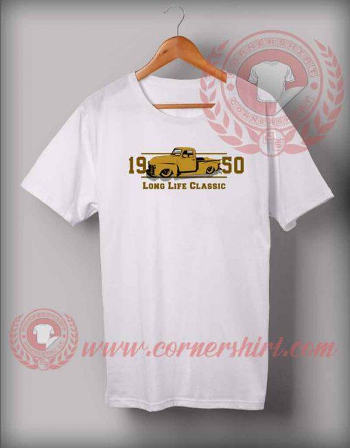 Classic Car 1950 Custom Design T shirts