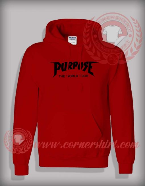 Purpose World Tour Custom design Hoodie