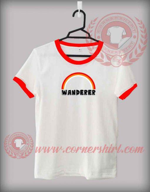 Rainbow Wanderer Custom Design T shirts
