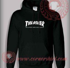Thrasher Skateboard Magazine Custom Design Hoodie