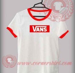 Vans Logo Custom Design T shirts