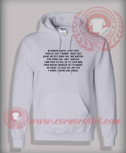 Be Unapologetic Custom Design Hoodie