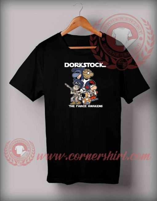 Dorkstock Force The Awakens T shirt