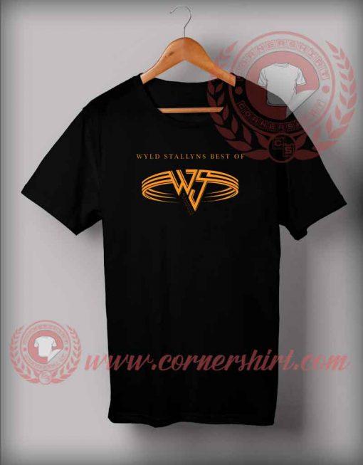 Wyld Stallyns Parody Logo T shirt