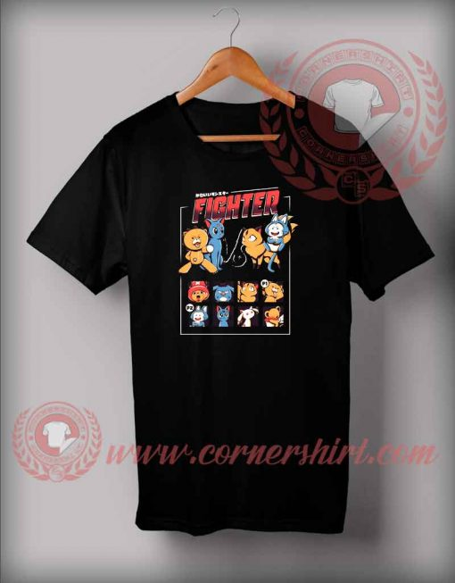 Anime Fight T shirt