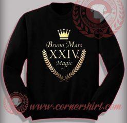 Bruno Mars 24k Magic Sweatshirt