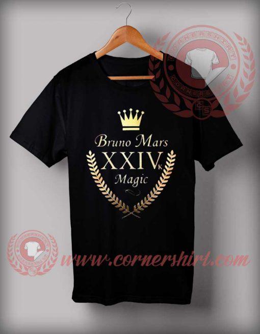 Bruno Mars 24k Magic T shirt