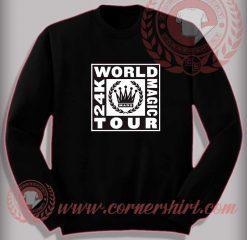 Bruno Mars World Tour Sweatshirt