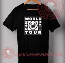 Bruno Mars World Tour T shirt