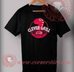 Clever Grill Jurassic BBQ T shirt