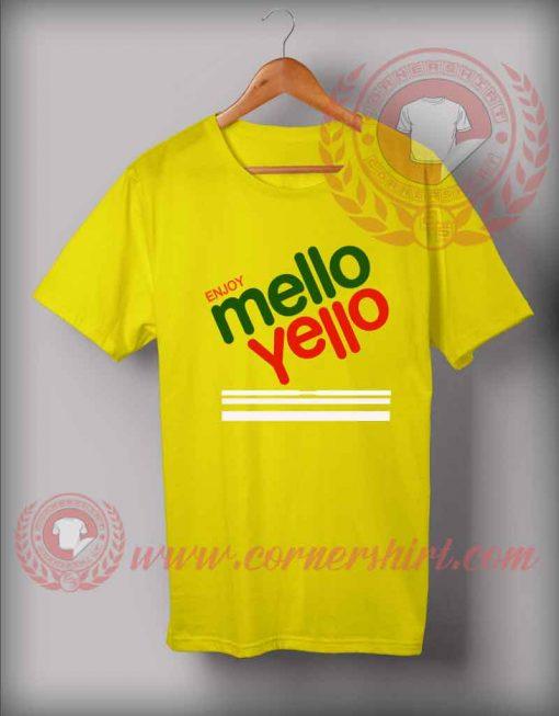 Enjoy Mello Yello T shirt