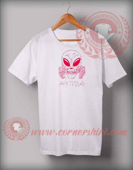 Gosha Rubchinskiy Aliens T shirt