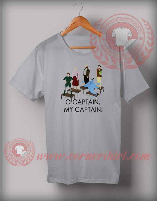 O Captain My Captain T shirt