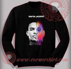 Trevor Jackson Face Sweatshirt