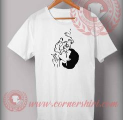 Women Smoke Imagination T shirt