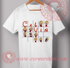 Calvin Funny Puzzle T shirt