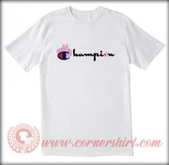 Champion X Peppa Pig Custom T shirt