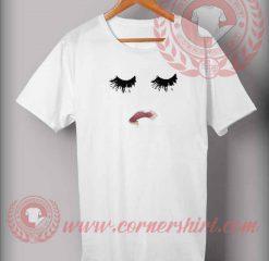 Eyelashes And Lips T shirt