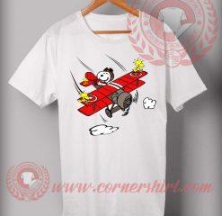 Snoopy Sky T shirt