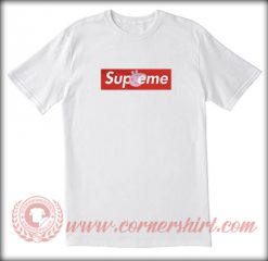 Supreme X Peppa Pig Custom T shirt
