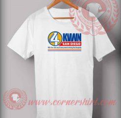 4 KVWN San Diego T shirt