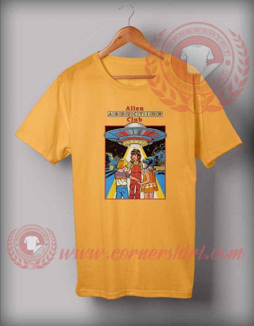 Alien Abduction Club T shirt